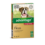 Advantage for Dogs 10-25kg (Red)