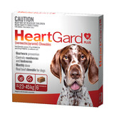 Heartgard 30 Plus Chews for Large Dogs 23-45 kg (Brown)