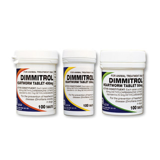 Dimmitrol Heartworm Tablets