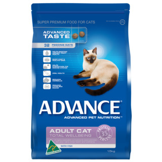 Advance Adult Cat Total Wellbeing - Fish[Size:8kg]