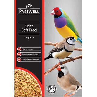 Passwell Soft Finch Food[Size:1kg]