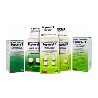 Popantel F - Flavoured Allwormer Tablets for Dogs