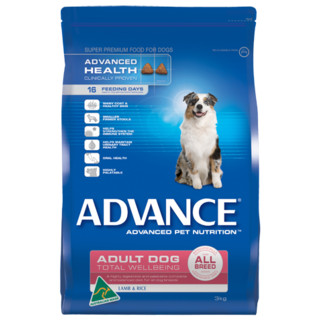 Advance Adult Dog Total Wellbeing All Breed - with Lamb and Rice[Size:15kg]