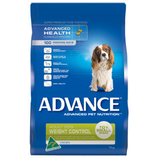Advance Adult Dog Small Breed Weight Control with Chicken[Size:7kg]