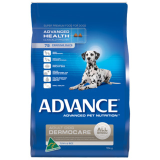 Advance Adult Dog Dermocare- with Tuna and Rice for Sensitive Skin & Coat[Size:15kg]