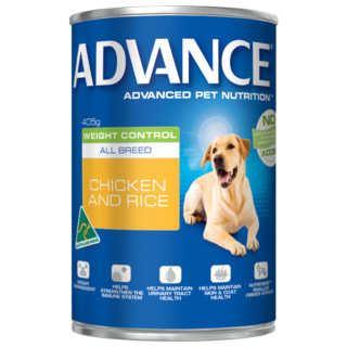 Advance Adult Dog Weight Control Wet Food - Chicken and Rice