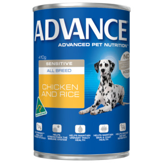 Advance Adult Dog Sensitive Wet Food[Size:12x700g Cans]