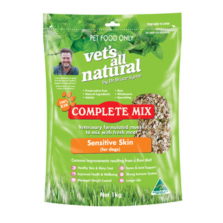 Vet's All Natural Canine Complete Mix Sensitive Skin