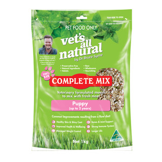 Vet's All Natural Canine Complete Mix Puppy
