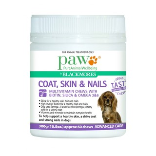 PAW Coat, Skin and Nails Chews