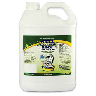Fido's Herbal Rinse Concentrate[Size:5L]