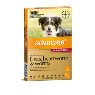 Advocate for Dogs 10-25kg (Red)
