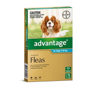 Advantage for Dogs 4-10kg (Aqua)