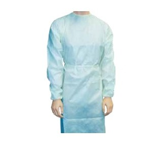 Disposable Gown Long Sleeve Single