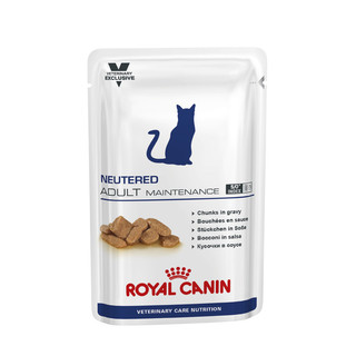 Royal Canin Feline Neutered Adult Maintenance 100g Pouches - 12 pack