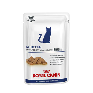 Royal Canin Feline Neutered Weight Balance 100g Pouches - 12 pack