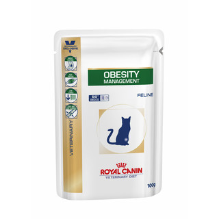 Royal Canin Feline Obesity Management 100g Pouches - 12 pack