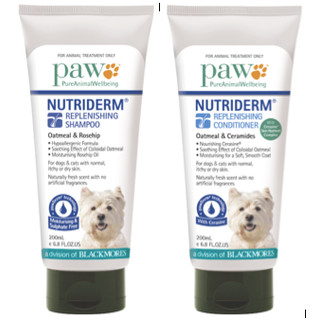 PAW Nutriderm Duo Pack Shampoo & Conditioner - 200mL