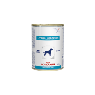 Royal Canin Canine Hypoallergenic Wet Food 12 x 400gm