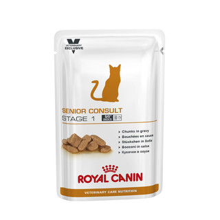Royal Canin Feline Senior Consult - Stage 1- 100g Pouches - 12 pack