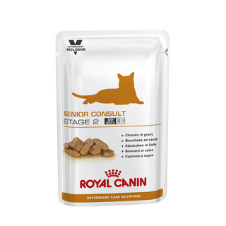 Royal Canin Feline Senior Consult - Stage 2 - 100g Pouches- 12 pack