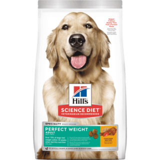 Hills Canine Science Diet Perfect Weight Adult Dry Dog Food