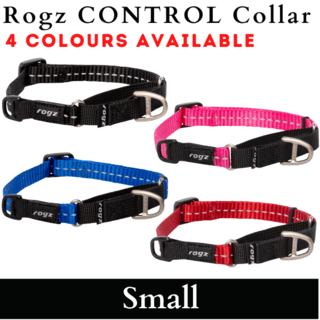Rogz Control Collar Web - SMALL 24-36cm