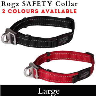 Rogz Safety Collar - LARGE 33cm -48cm