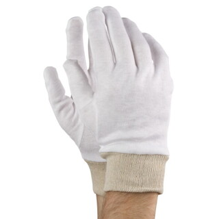 White Cotton protective Gloves