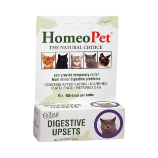 Homeopet Feline Digestive Upsets 15ml