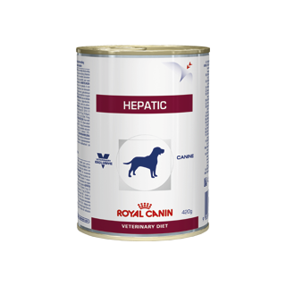 Royal Canin Canine Hepatic Wet Food - 12x420g Cans